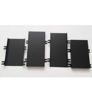 Velox Hood Louver Rain Guard Kit  FR-S / BRZ / GT86