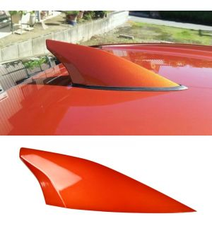 Ikon Motorsports Fits 12-16 Scion FRS ABS Antenna Cover Painted Hot Lava Metallic # H8R
