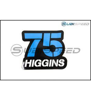 Subaru Rally Team Higgins #75 Sticker - Universal