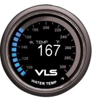 Revel VLS 52mm 100-300 Deg F Digital OLED Water Temperature Gauge