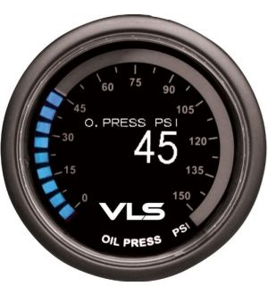 Revel VLS 52mm 0-150PSI Digital OLED Oil Pressure Gauge