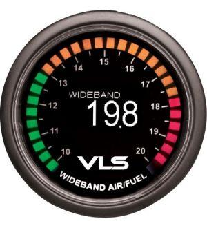 Revel VLS 52mm 10.0:1-20.0:1 AFR Digital OLED Wideband Air/Fuel Ratio Gauge