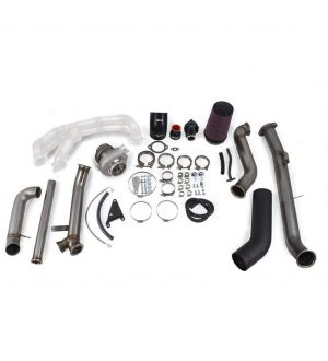 ETS Standard Turbo Kit - Stock MAF - 2-bolt - PT5558 Gen 2 BB Subaru STI 08-14