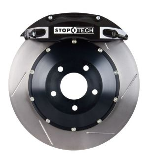 Stoptech 355x32 Big Brake Kit Slotted / Black (Front) - 2013+ BRZ