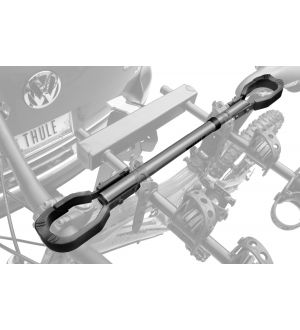 Thule Frame Adapter for Womens Bikes/BMX/Non-Std. Frames (Telescopic Adj. 18-30.5in.) - Silver/Black