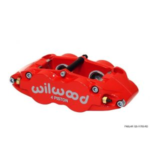 Wilwood 4R Slotted Rear (Red) - 2013+ BRZ