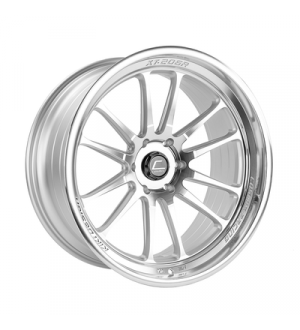 Cosmis Racing Wheels XT-206R 18x11 +8 5x114 Silver w/ Machined Face and Lip Universal