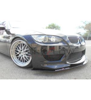 Aeroflow Dynamics 07-10 BMW 328I/335I COUPE/VERT E92/E93 M-SPORT BUMPER  SPLITTER V1 WITH RODS