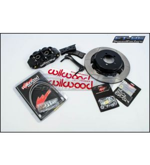 Wilwood 6R Slotted Front (Black) - 2013+ BRZ