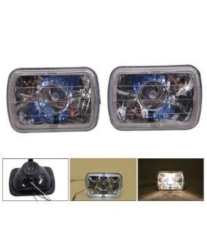 Ikon Motorsports 7 X 6 H4 Halo Projector Headlight H6014 H6052 H6054