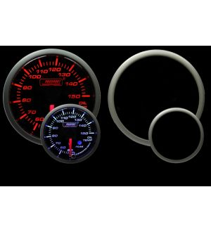 ProSport 52mm Amber/White Premium Metric Oil Temperature Gauge