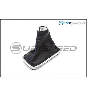 Subaru OEM JDM Shifter Boot Blue Stitching - 2015+ WRX CVT / 2014+ Forester CVT / 2013+ Crosstrek CVT