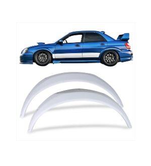 Ikon Motorsports 02-07 Subaru Impreza WRX STi Front Fender Flares Kits - FRP