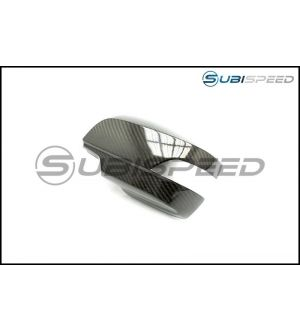 OLM LE Dry Carbon Fiber Full Mirror Covers (With Turn Signal Hole) - 2015+ WRX / 2015+ STI