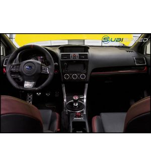 Subaru OEM Red and Piano Black Dash Trim - 2015+ WRX / 2015+ STI / 2014+ Forester