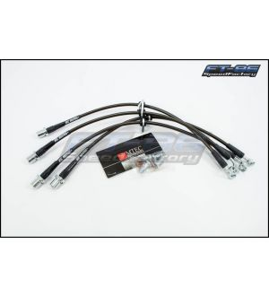 MTEC Stainless Steel Brake Lines (Various Colors) - 2013+ BRZ