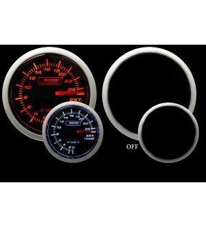 ProSport Amber/White 60mm Exhaust Gas Temperature Gauge