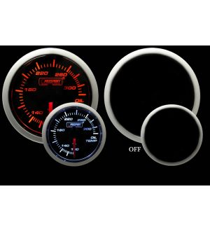 ProSport Amber/White 60mm Oil Temperature Gauge