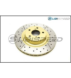 DBA Drilled and Slotted T2 Rotors - 2013+ BRZ