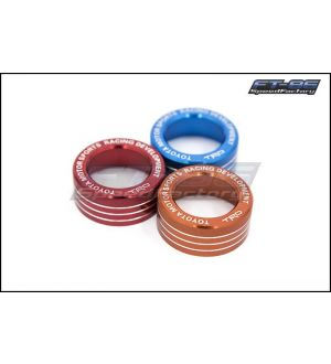 TRD Style Dual Climate Control Knobs - 2013+ FR-S / BRZ / 86