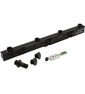 AEM Electronics High Volume Fuel Rail;Black;Honda F20C1 and F22C1
