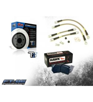 SpeedFactory Stage 1 Brake Package - 2013+ BRZ