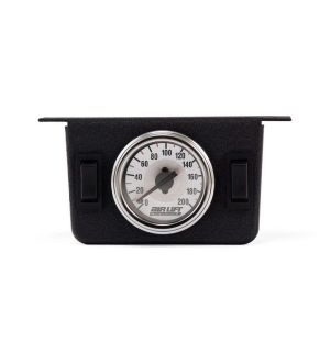 Air Lift Dual Needle Gauge Panel With Two Switches- 200 PSI