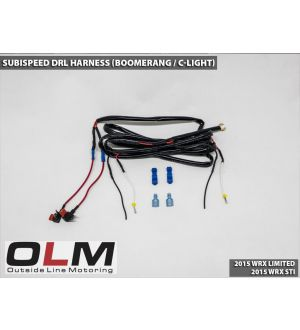 SubiSpeed DRL Harness for Boomerang (C-Light) - 2015+ WRX Limited / 2015+ STI