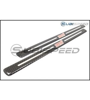 JDM Station Carbon Fiber STI Style Door Sill - 2013+ BRZ