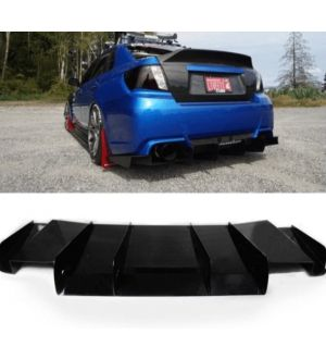 Aeroflow Dynamics 11-14 SUBARU WRX/STI REAR DIFFUSER SEDAN MODELS ONLY