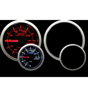 ProSport Boost Gauge Electrical w/Sender Amber/White 52mm
