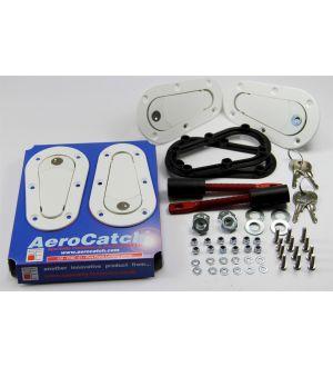 Aerocatch Hood Pins Locking Kit