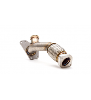 EXTERNAL WASTEGATE UP PIPE W/ DUMP TUBE 38/40MM V-BAND WRX/STI/LGT/FXT