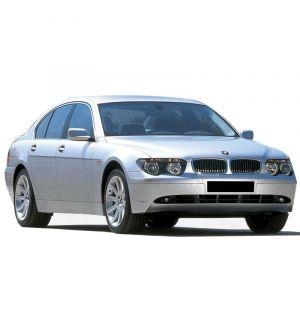 Ikon Motorsports Premium Quality 04-09 BMW E65 7-Series 4D Front Rear OE Floor Mat M Color Stripe
