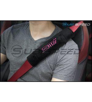 JDM Station STI Style Seat Belt Comfort Pads - Universal