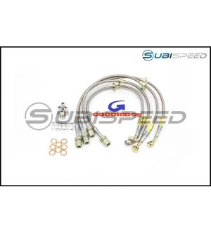 Goodridge Front and Rear Stainless Steel Brake Lines - 2015+ STI