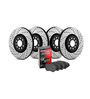 StopTech Street Axle Pack, Drilled & Slotted, 4 Wheel 1991-1995 Plymouth  - 935.63036