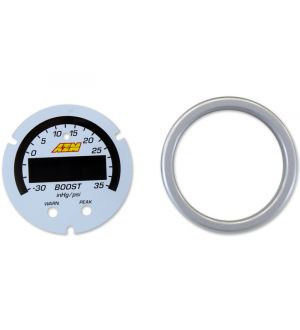AEM X-Series Boost Pressure -30inHg 35psi Gauge Accessory Kit