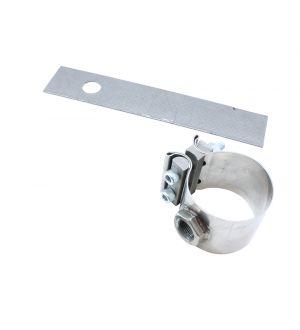 AEM No-Weld O2 Sensor Mount for 2.25 to 2.5 inch Diameter Pipe