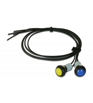 AEM CD Carbon Dash 2-Button External Button Kit