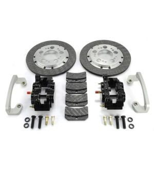 ETS Nissan GTR Rear Carbon Brake Kit - Stock Knuckle