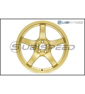 Rays Gram Lights 57CR E8 Gold 17x9 +38 - 2013+ BRZ / 2014+ Forester