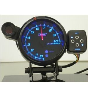 ProSport 80mm Tachometer Peak/Warning