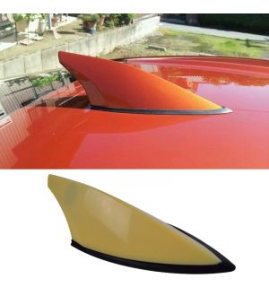Ikon Motorsports Fits 12-16 Subaru BRZ Scion FRS GT86 Unpainted Roof Antenna Shark Fin Cover ABS