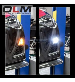 OLM Switchback Amber / White Turn Signal and Parking Light Bulb - 17+ Impreza