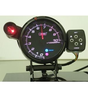ProSport 95mm Tachometer Peak/Warning