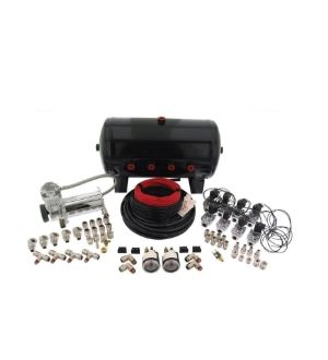 Air Lift Fitting Pack For 5 (10991) 8.5 (10994)Or 12 Gallon (10997) Steel Tanks With 1/4in Lines