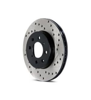 Stoptech Drilled Rotor Single - 128.47027R