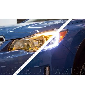 Diode Dynamics Subaru Crosstrek C-Light Switchback LED Halos - 2013+ Crosstrek