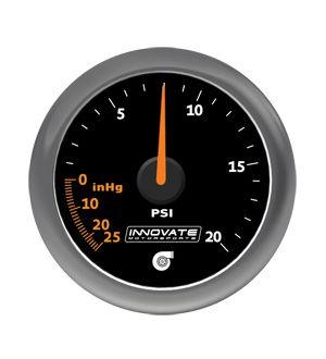 Innovate Motorsports MTX-A: 20 PSI Vacuum / Boost Gauge
